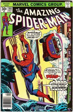 Amazing Spider-Man #160 September 1976 Marvel Comics Grade VF