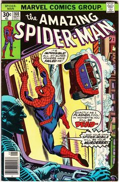 For sale marvel comics amazing spiderman 160 stan lee john romita artwork gil kane jack davis emorys memories. Comics Spiderman, Marvel Comics, Marvel Comic Books, Marvel Heroes, Comic Books Art, Book Art, Univers Marvel, Dc Universe, X Men