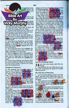 #Bible Art #Bible Journaling #Bible Study #BibleArt Woof and warp