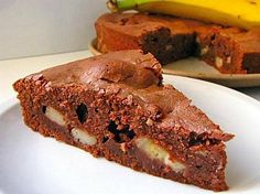 Baby Food Recipes, Sweet Recipes, Dessert Recipes, Chocolate Lovers, Chocolate Recipes, Cake Factory, 20 Min, Vegan Desserts, Banana Bread