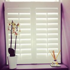Our aim is to provide the right product for your interior space, #handcrafted by your request and supplied on time. Traditional range #shutters Cafe style