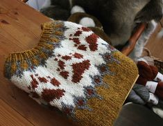 Ravelry: Villmarksgenseren (The Wilderness Sweater) pattern by Linka Karoline Neumann