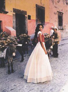 a-state-of-bliss:    Vogue US March 1998 - Naomi Campbell by Ellen Von Unwerth