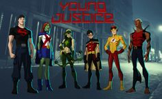 YOUNG JUSTICE: THE TEAM