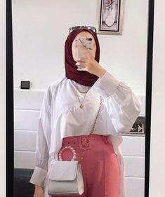 Modest Fashion Hijab, Modern Hijab Fashion, Casual Hijab Outfit, Hijab Fashion Inspiration, Hijab Chic, Muslim Fashion, Grunge Outfits, Trendy Outfits, Fashion Outfits