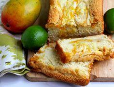 Key Lime Mango Cake by Jocelyn of Grandbaby-Cakes.com