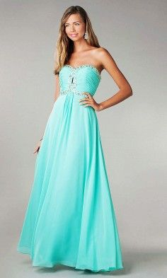 Tiffany Blue Bridesmaid Dress With Bling
