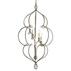 Franklin Chandelier by Currey and Company.