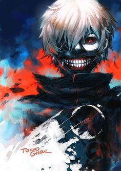 Tokyo Ghoul | Kaneki Ken  Less Fan Art, Anime Manga, Tokyoghoul, Balabagon Ken, Tokyo Goul, Fans Art, Ghoul Fans, Animal, Tokyo Ghoul