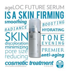 There's a reason this is one of Nu Skin's selling products! Highest concentration of ageLOC. Use daily. Healthy Beauty, Health And Beauty, Beauty Skin, Galvanic Body Spa, Nu Skin Ageloc, Skin Structure, Cosmetic Treatments, Younger Looking Skin, Facial Care