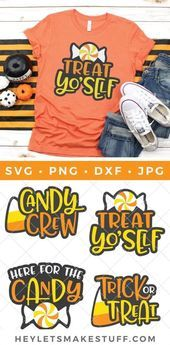 Halloween Candy SVG Bundle