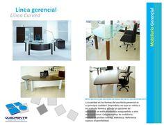 Mobiliario gerencial - Línea Curved
