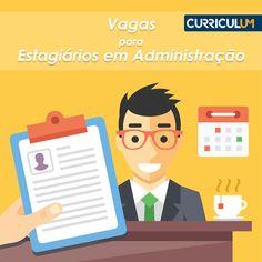 Vagas para estagiários em Administração: candidate-se AQUI!