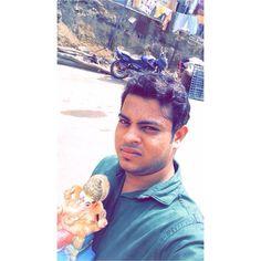 New pin for Ganpati Festival 2015 is created by by dankhara_miraj with . Mιѕѕ Yoυ Gαɴeѕнa  #ganpatibappa# #myfriendganesha#