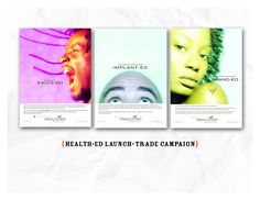 Professional Ads for HealthEd