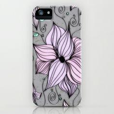 Fleurs iPhone & iPod Case by DuckyB (Brandi)