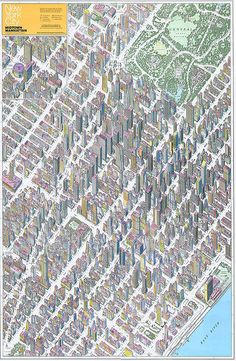 Midtown, Manhattan Map Co. Inc. by Endless Forms Most Beautiful, via Flickr