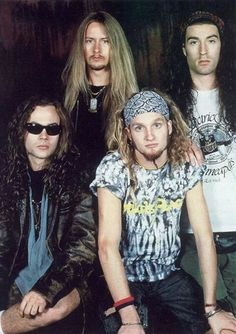 Alice in Chains 📷 Larry Marano Mike Inez, Mike Starr, My Favorite Music, My Favorite Things, Big Box Braids, Jerry Cantrell, Mad Season, Layne Staley, Alice In Chains