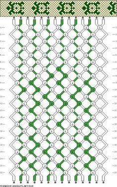friendship bracelet patterns turtles | 5005 - friendship-bracelets.net