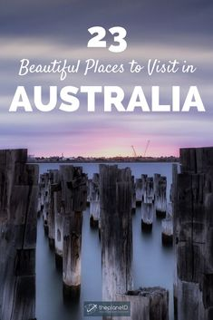 23 of the most iconic places in Australia. See the must visit Sydney Opera House and take a day trip from Melbourne to the Twelve Apostles in Victoria. Maria Island in Tasmania features stunning photography … Australia Tourism, Australia Travel Guide, Australia Beach, Visit Australia, Western Australia, South Australia, Queensland Australia, Melbourne Australia, Australia Trip