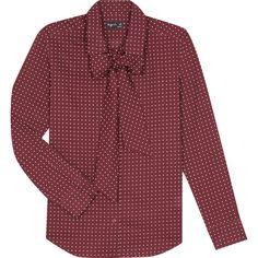 winter 2016-17 - chemise Petrus rouge #agnesb #agnesbfemme #womenswear