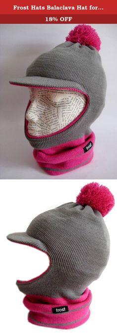 0b0dd6a7eb8 Frost Hats Balaclava Hat for Girls Warm Winter Ski Mask M2013-182G  (Charcoal