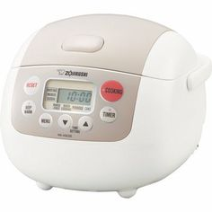 Buy this Zojirushi Micom (Uncooked) Electric Rice Cooker and Warmer for excellent rice cooking experience, deep discounted offer. 3 Cup Rice Cooker, Best Rice Cooker, Slow Cooker, Specialty Appliances, Small Appliances, Kitchen Appliances, Kitchen Gadgets, Kitchen Utensils, Kitchen Tools