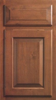 Rustic Alder has the same characteristics as alder but has knots of all sizes and types. Knots will commonly have cracks and/or holes. It is available on solid wood door styles only. #RusticAlder #WoodSpecies #KountryKraft https://www.kountrykraft.com/