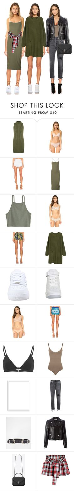 """Untitled #2044"" by makeupbylibby ❤ liked on Polyvore featuring WearAll, Skarlett Blue, The Jetset Diaries, T By Alexander Wang, Eberjey, Sam&Lavi, WithChic, NIKE, Commando and KAS New York"
