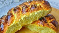 Greek Desserts, Greek Recipes, Greek Cookies, Greek Easter, Bread Rolls, Sweet Bread, Hot Dog Buns, Food To Make, Bakery