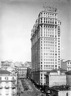 O Edifício Martinelli, década de 30.
