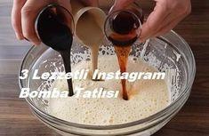3 Lezzetli Instagram Bomba Tatlısı Slushies, Lemonade, Smoothie, Pudding, Instagram, Desserts, Recipes, Food, Women's Fashion