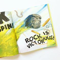 Do you have books your children love and you . . . do not? THE LEGEND OF ROCK PAPER SCISSORS is one of those for me. This is one I'll stealthily be returning to the library as soon as possible. Also the Pokey Little Puppy which I like in theory but takes 45 years to read. #janssenspicturebooks