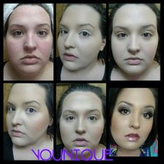 Before and after with all Younique products #beautiful https://www.youniqueproducts.com/LyndseyComiso/products#.UyIZ6_ldV5I