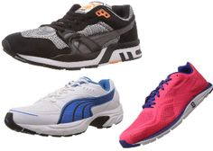 Amazon Puma Sport Shoes At Flat 60% OFF Offer : Buy Puma Footwear at Best Price - Best Online Offer