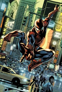 Spider-man by Bryan Hitch