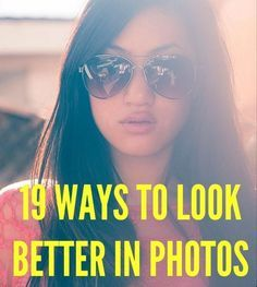 19 Foolproof Beauty Tricks That Will Make You Look Instantly Better in Photos 19 Ways to Look Better in Photos. Really good tips - not just for selfies. What Cosmo says goes! Selfies, Selfie Tips, Amazing Photography, Photography Tips, Iphone Photography, Top Makeup Artists, Putting On Makeup, Tips & Tricks, Photoshop