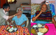 Lunch time at High Care Home