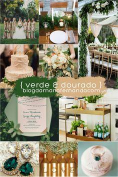 Decoração de Casamento : Paleta de Cores Verde e Branco | http://blogdamariafernanda.com/decoracao-de-casamento-paleta-de-cores-verde-e-branco