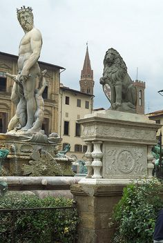 Firenze - stayed in an apartment not far from this piazza by the river