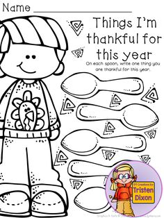 November Thanksgiving Writing Center Packet - List It! set. 20 pages for your November writing center and it's only $3! Each page gives your students a chance to practice creative fluency by listing to answer writing prompts - and they're CUTE!