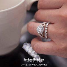 #Coffee & #Diamonds make the perfect blend... #goldsmithgalleryjewelers #diamond #engagement #ring #henridaussi