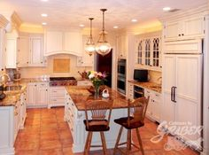 Completed Kitchen By Cabinets By Graber I LOVE CABINETS BY GRABER!!!!  Nothing
