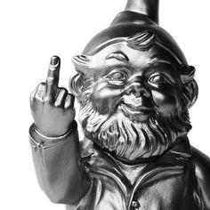 Nonconformist Swearing Sponti Gnome...@ShellJurano you NEED this gnome!