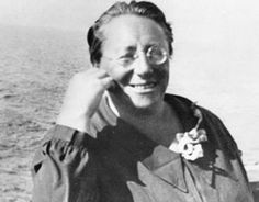 Amalie (Emmy) Noether (1882-1935) devised, among other theories, the mathematical principle called Noether's Theorem,  described as 'essential,' 'beautiful,' and 'integral'; it became a foundation of Quantum Physics and her calculations helped Einstein formulate his general Theory of Relativity. A Jew, she was forced by the Nazis  to flee to the U.S. and then for the first time had a full professorship and salary. She tragically died a only year later in 1935 during surgery to remove a tumor...