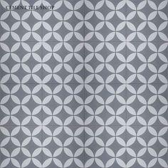 Cement Tile Shop - Handmade Cement Tile | Circulos Grey