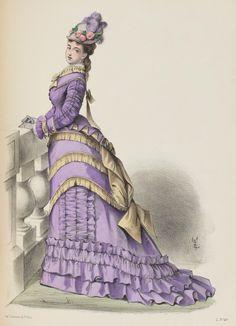 Le Moniteur de la Mode, 1875