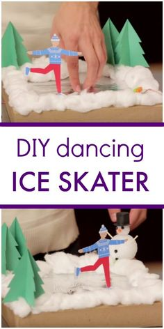 Use littleBits to design your own dancing ice skater in this STEM activity for Christmas or winter. Click through to see the ice skater in motion. Cool Science Experiments, Stem Science, Steam Learning, Kids Learning, Science Activities, Activities For Kids, Creative Arts And Crafts, Winter Theme, Winter Art