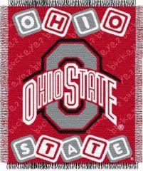 Ohio State baby blanket <3