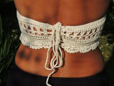 Crochet Top. Crochet Halter Top 'Victoria'. by BelovedbyStella